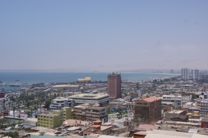 The view of Arica from El Morro